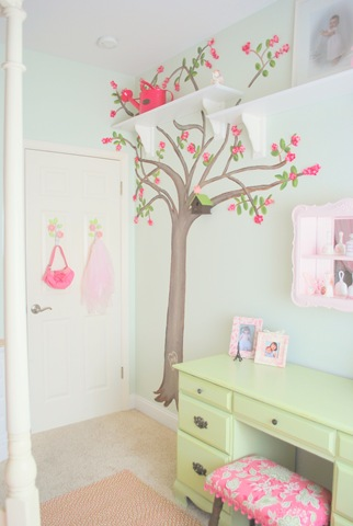 Proyecto decoracion diy for Decorar habitacion infantil nina