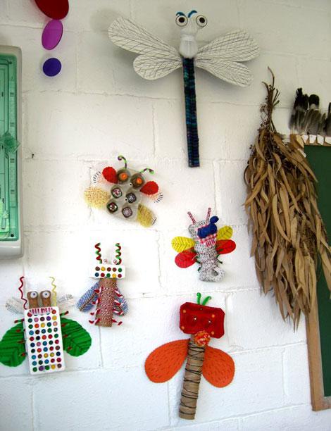 Coleccion de insectos decorar jugando for Manualidades decoracion infantil