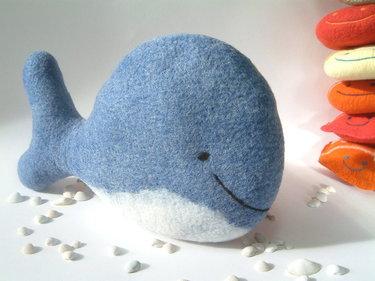 cojin ballena para niños