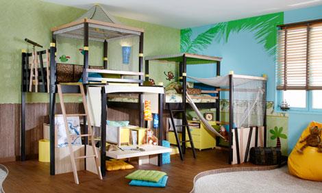 Inspiracion dormitorios infantiles decoideas net for Dormitorio super heroes