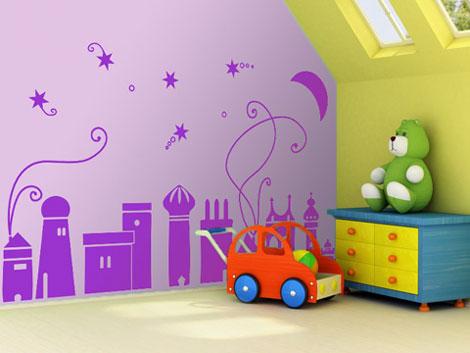 Vinilos decorativos infantiles en proyectovinilo for Vinilos adhesivos infantiles