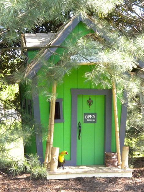 casitas de jardin para niños