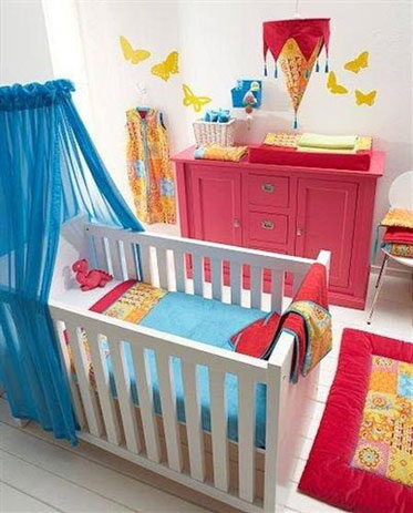 Decoracion dormitorios bebes decoideas net - Decoracion dormitorio bebe ...