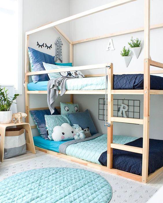 Inspiracion dormitorios infantiles con literas decoideas for Literas infantiles originales