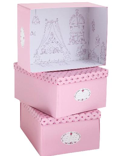 Cajas para jugar y guardar for Cajas decorativas para almacenar