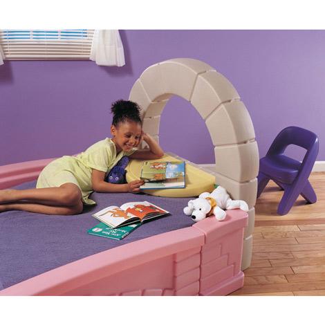cama castillo para niñas