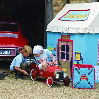 casitas de juegos para niños