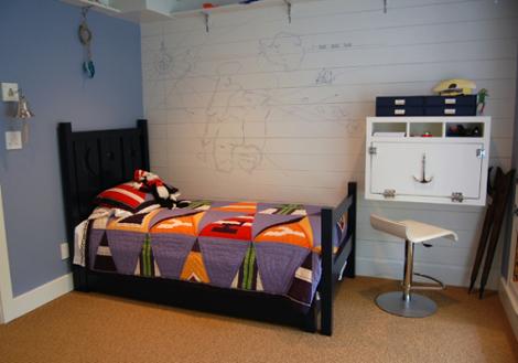 Habitacion infantil marinera decoideas net - Habitaciones infantiles marineras ...