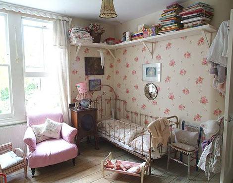 Inspiración habitación infantil vintage