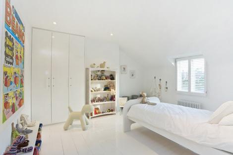 Inspiraci n habitaciones infantiles blancas decoideas net - Habitaciones blancas juveniles ...