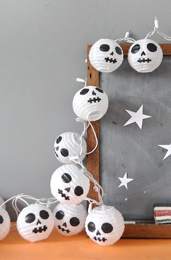Guirnaldas de Halloween manualidades