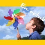 Manualidades con niños: molinillo gigante