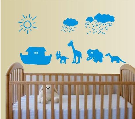 Vinilos para la habitaci n del bebe for Tablero del deco del sitio del bebe