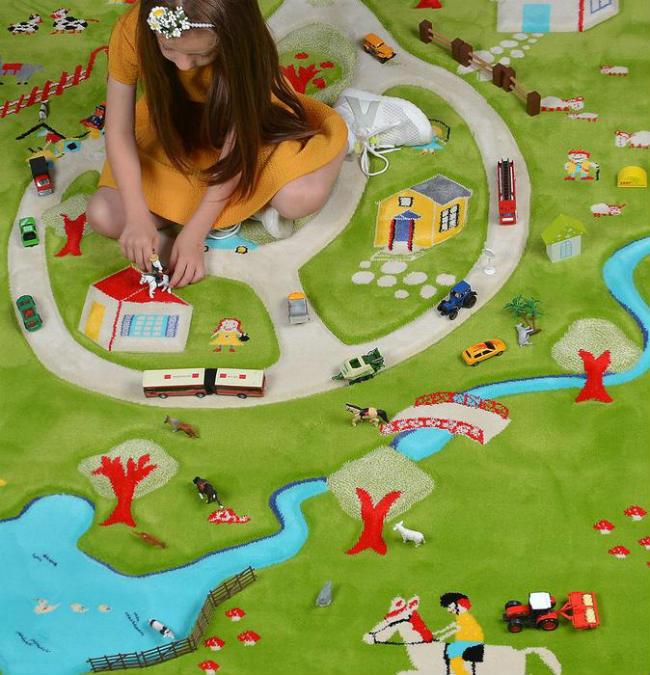 Alfombras para jugar