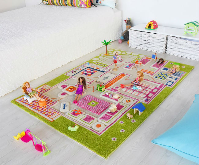 Alfombras para jugar Play House