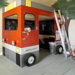 Habitaciones infantiles tematicas: Habitacion de bomberos