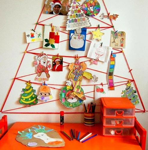 El rbol de las manualidades - Ideas originales para postales de navidad ...