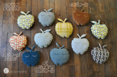 cojines-manzana
