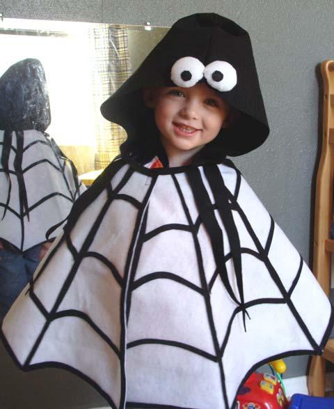Spider Cape Halloween Costume