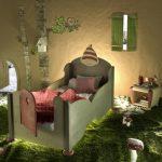 Habitaciones temáticas para niños: Un bosque encantado