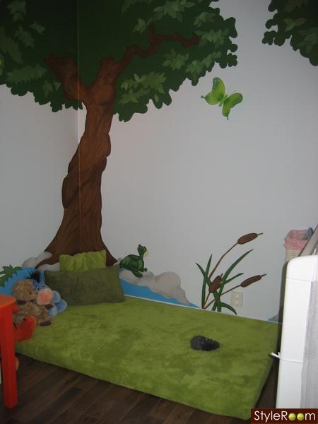 Habitación bebe bosque