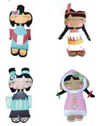 muñecas-de-tela