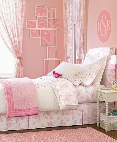 Inspiraci n dormitorio para ni a decoraci n infantil Habitaciones juveniles rosa