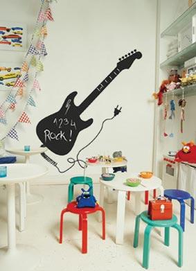 Vinilos y complementos decorativos infantiles decoideas net for Pegatinas para decorar habitaciones