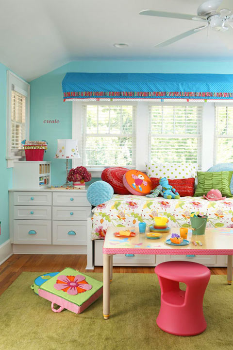 Ideas decoraci n infantil para ni as decoideas net - Habitaciones infantiles para nina ...