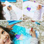 Manualidades con niños: decorar camisetas