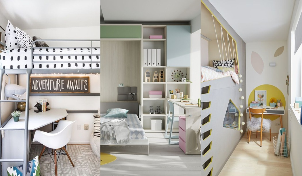 Ideas para distribuir mini habitaciones