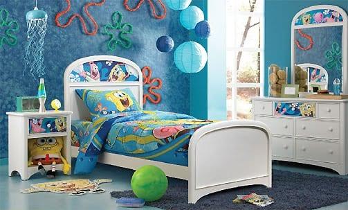 Habitaciones infantiles Bob Esponja