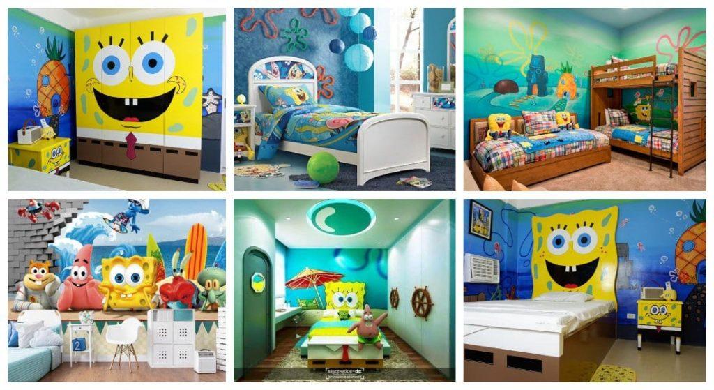 Dormitorios de Bob Esponja para niños