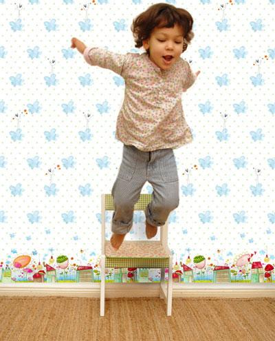 Esta Temblando on Las   Ltimas Novedades En Papel Pintado Infantil Que Estrena La Web