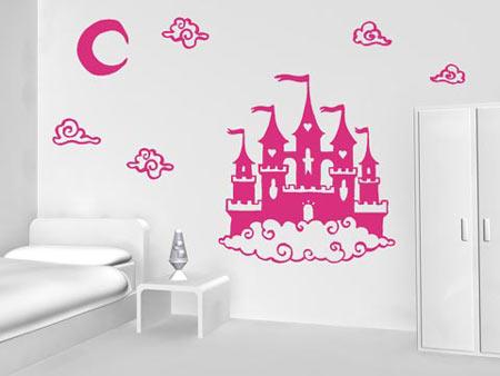 Vinilos para una habitaci n de princesas for Vinilos habitacion infantil nina