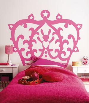 vinilos para una habitacin de princesas