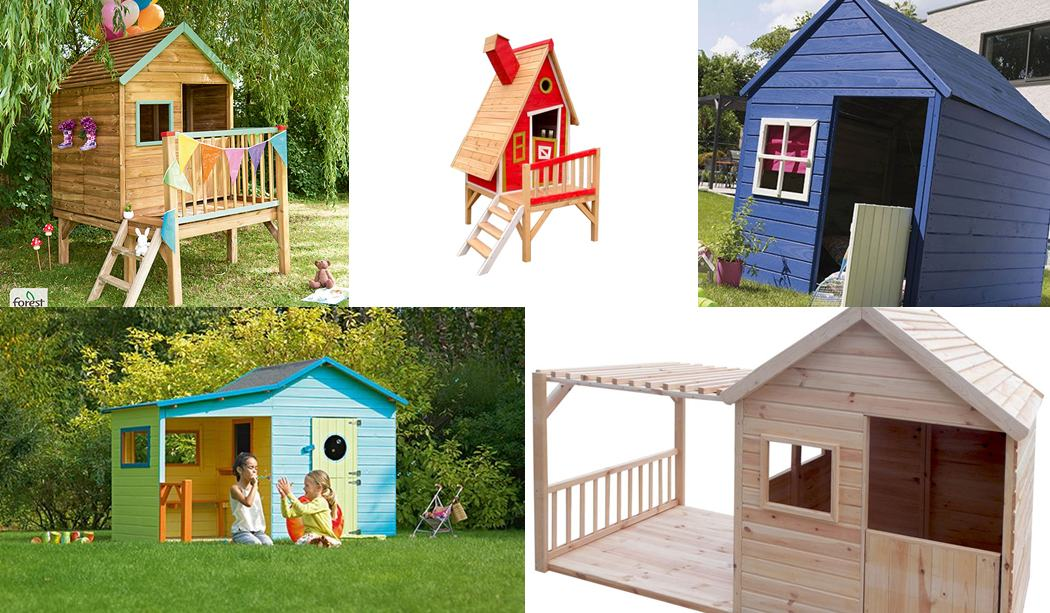 Casitas de madera para niños