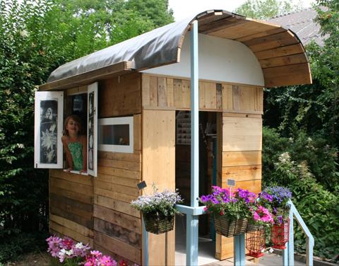 Casa de madera para jugar - Casitas de maderas ...