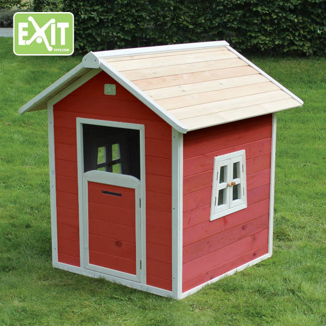 Casa de madera para jugar for Casita de madera ikea
