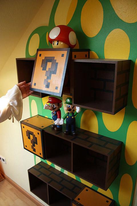 Ideas para una habitaci n infantil de mario bros - Como pintar habitacion infantil ...
