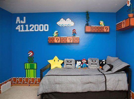 Habitaciones infantiles Mario Bros