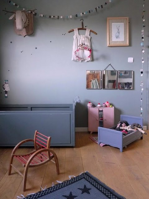 Habitaciones infantiles vintage