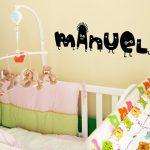Letras de vinilo para habitaciones infantiles