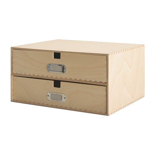 Ideas para organizar las habitaciones juveniles - Cajones de madera ikea ...