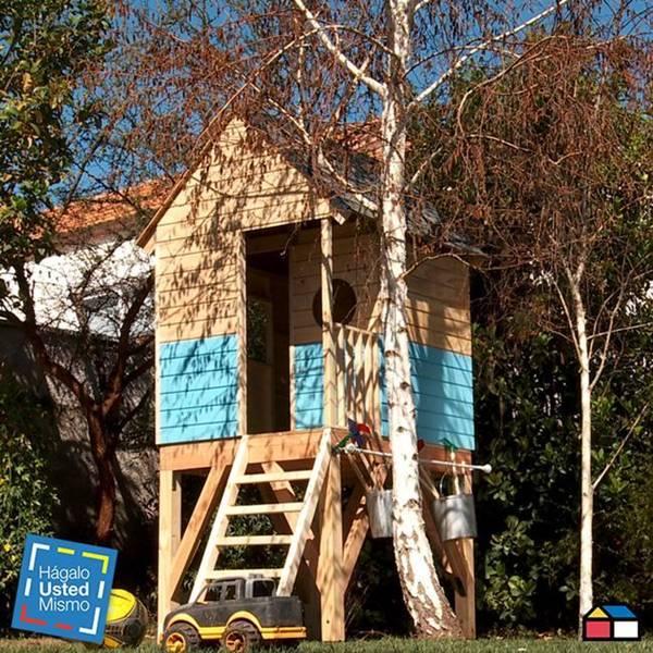 Casa de madera para niños planos pdf