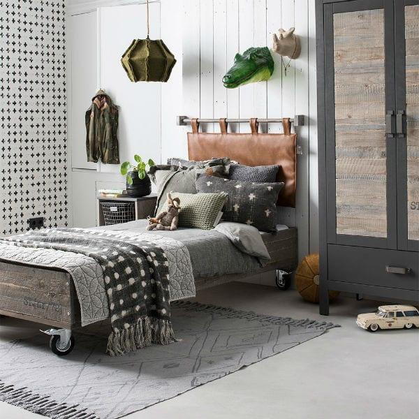 Habitaciones de adolescentes con camas con ruedas