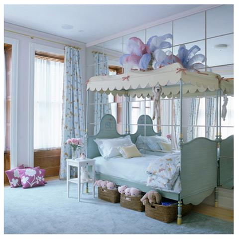 Inspiraci n habitaciones infantiles elegantes para ni as - Habitaciones infantiles ninas ...