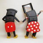 Mickey y Minnie en versión mueble
