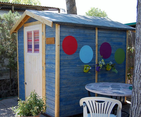 Proyecto casita de jardín para niñas