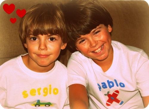 Camisetas infantiles personalizadas con el nombre